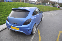 Vauxhall Corsa 2013 custom boot install 002