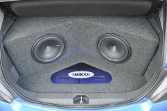 Vauxhall Corsa 2013 custom boot install 005