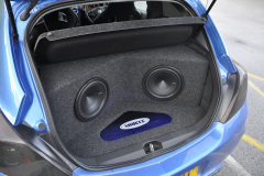 Vauxhall Corsa 2013 custom boot install 006
