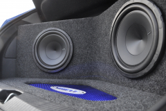 Vauxhall Corsa 2013 custom boot install 008