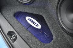 Vauxhall Corsa 2013 custom boot install 009
