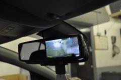Vauxhall Corsa 2013 reverse camera mirror 005