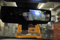 Vauxhall Corsa 2013 reverse camera mirror 006