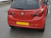 Vauxhall Corsa 2014 rear parking sensors upgrade 003