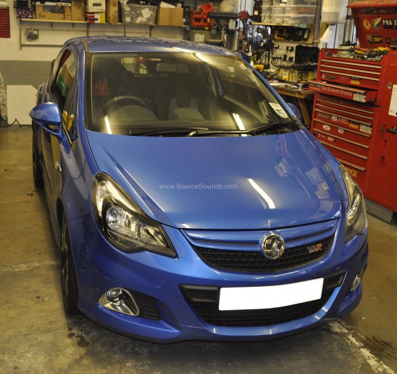 Vauxhall Corsa VXR 2014 rear sensor upgrade 001
