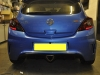 Vauxhall Corsa VXR 2014 rear sensor upgrade 002