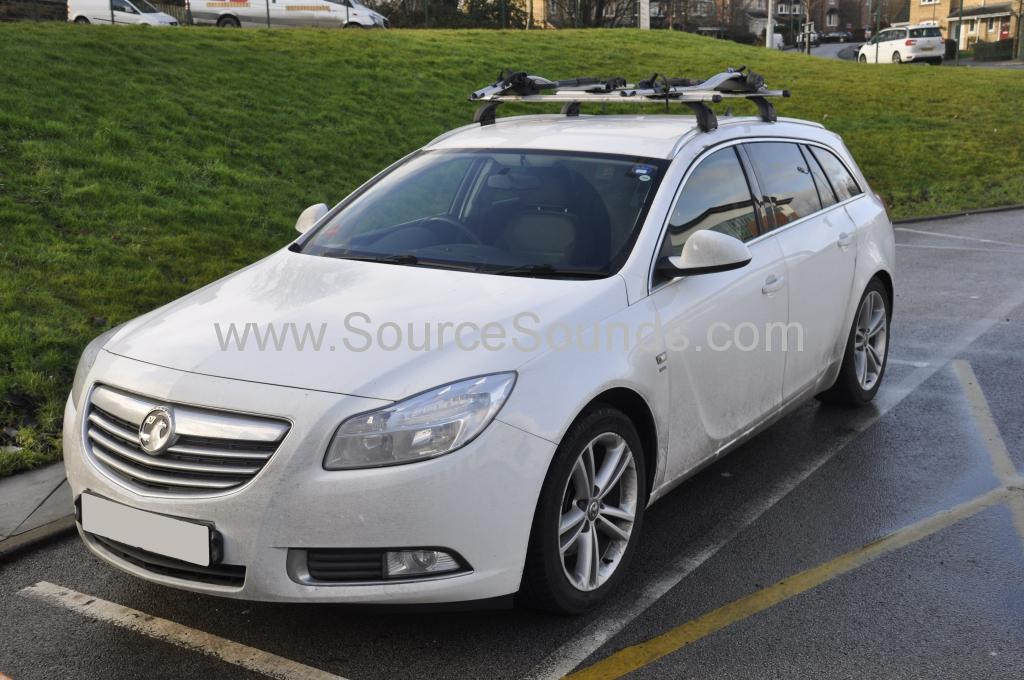 Vauxhall Insignia 2011 kenwood DAB upgrade 001