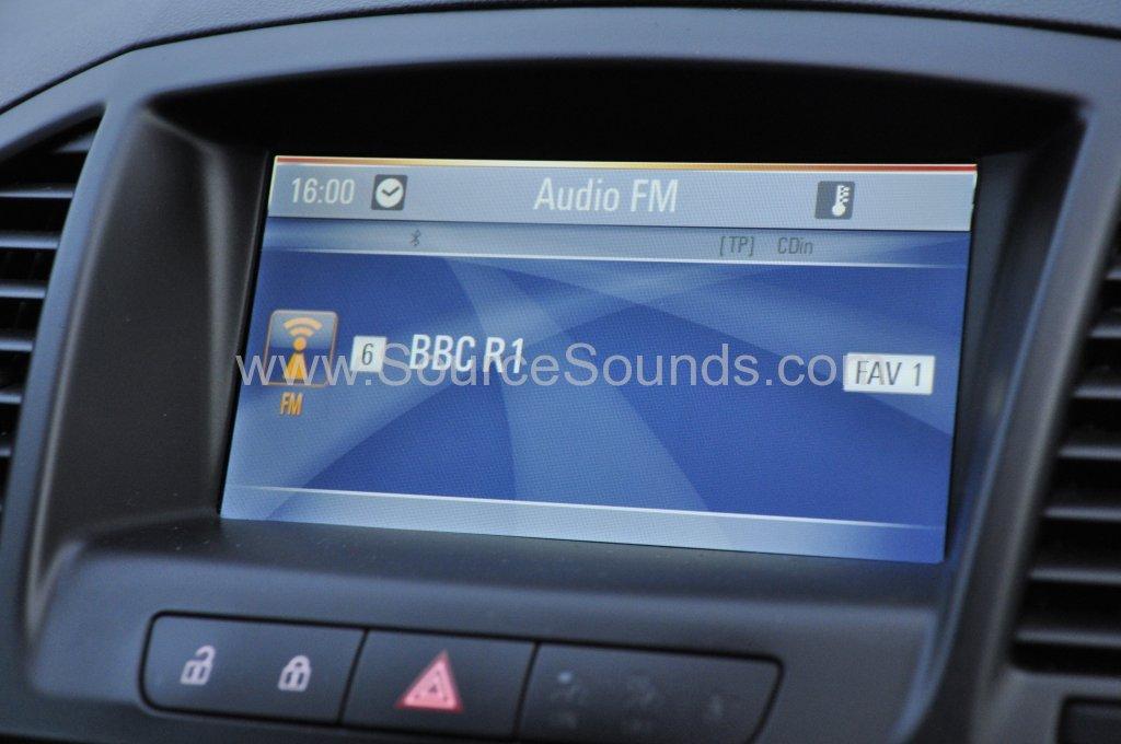 Vauxhall Insignia 2012 DAB upgrade 007