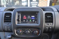Vauxhall Vivaro 2017 DAB upgrade 003