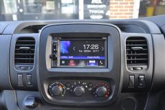 Vauxhall Vivaro 2017 DAB upgrade 004
