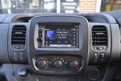 Vauxhall Vivaro 2017 DAB upgrade 005