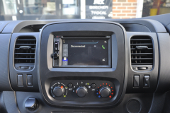 Vauxhall Vivaro 2017 DAB upgrade 006