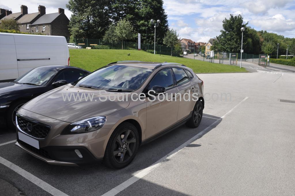 Volvo V40 2014 rear sensors 001