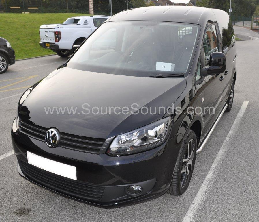 VW Caddy 2014 camera recorder upgrade 001