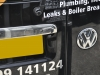 VW Caddy 2014 reverse camera upgrade 009