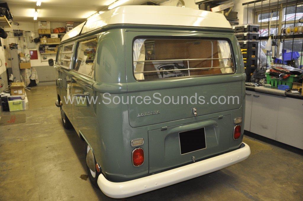 VW Camper 1967 audio upgrade 002