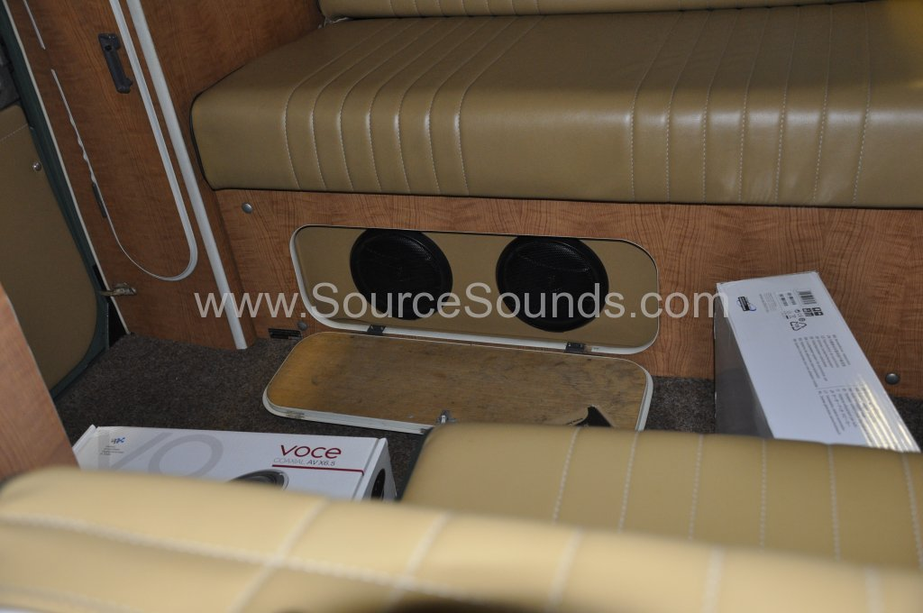 VW Camper 1967 audio upgrade 011