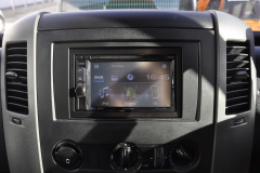 VW Crafter 2010 DAB screen upgrade 003