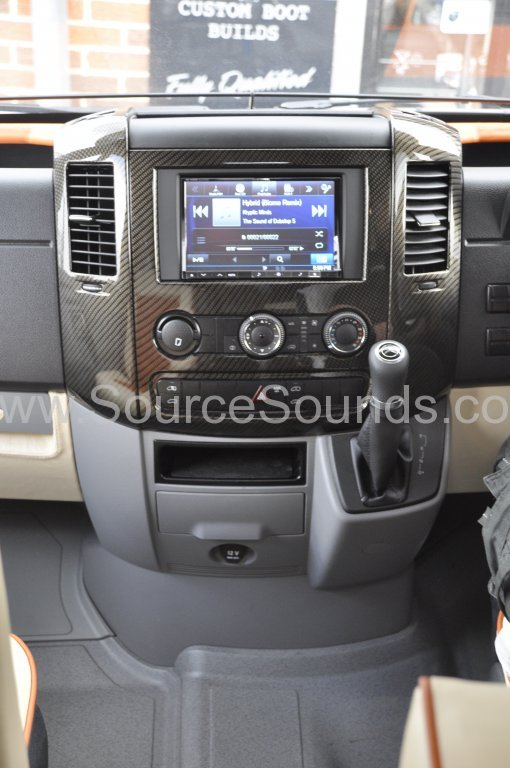 Vw Crafter 2014 Motorhome Audio Navi Upgrade Source Sounds