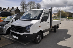 VW Crafter 2105 Pick Up reverse camera upgrade 001