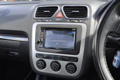 VW EOS 2007 reverse camera upgrade 006