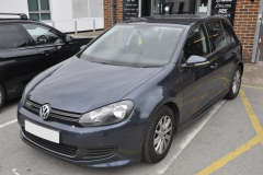 VW Golf 2011 navigation DAB upgrade 001