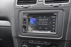 VW Golf 2011 navigation DAB upgrade 004