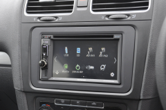 VW Golf 2011 navigation DAB upgrade 007