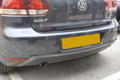 VW Golf 2011 rear parking sensors 002