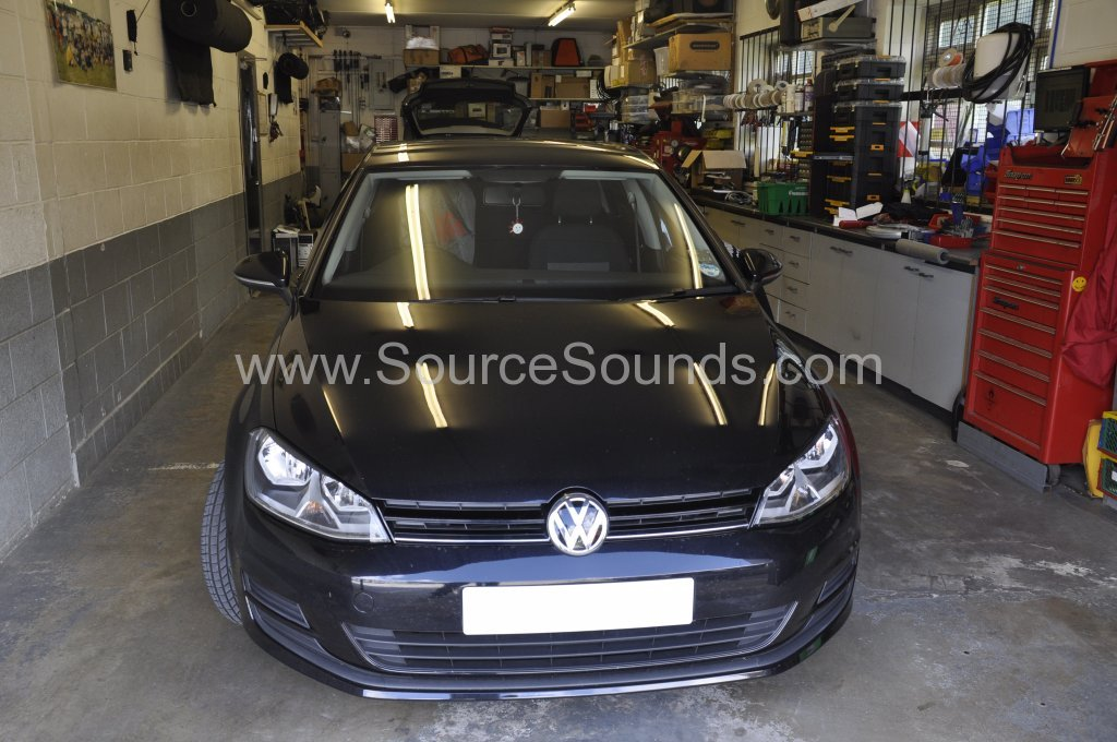 VW Golf 2013 rear sensor upgrade 001