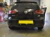 VW Golf 2013 rear sensor upgrade 003