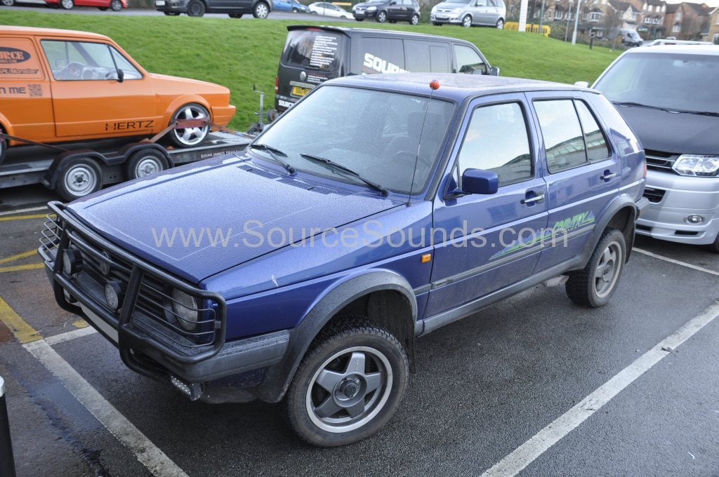 VW Golf Mk2 1990 4x4 Country security upgrade 001