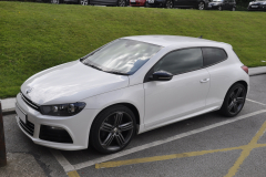 VW Scirocco 2012 reverse cam to OEM screen 001