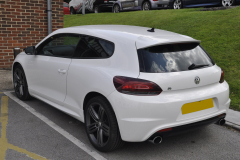VW Scirocco 2012 reverse cam to OEM screen 002