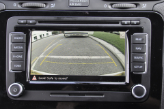 VW Scirocco 2012 reverse cam to OEM screen 006