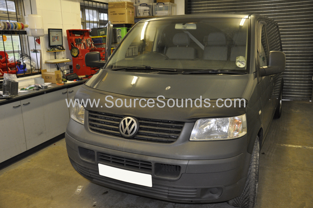 VW T5 2007 sound proofing 001