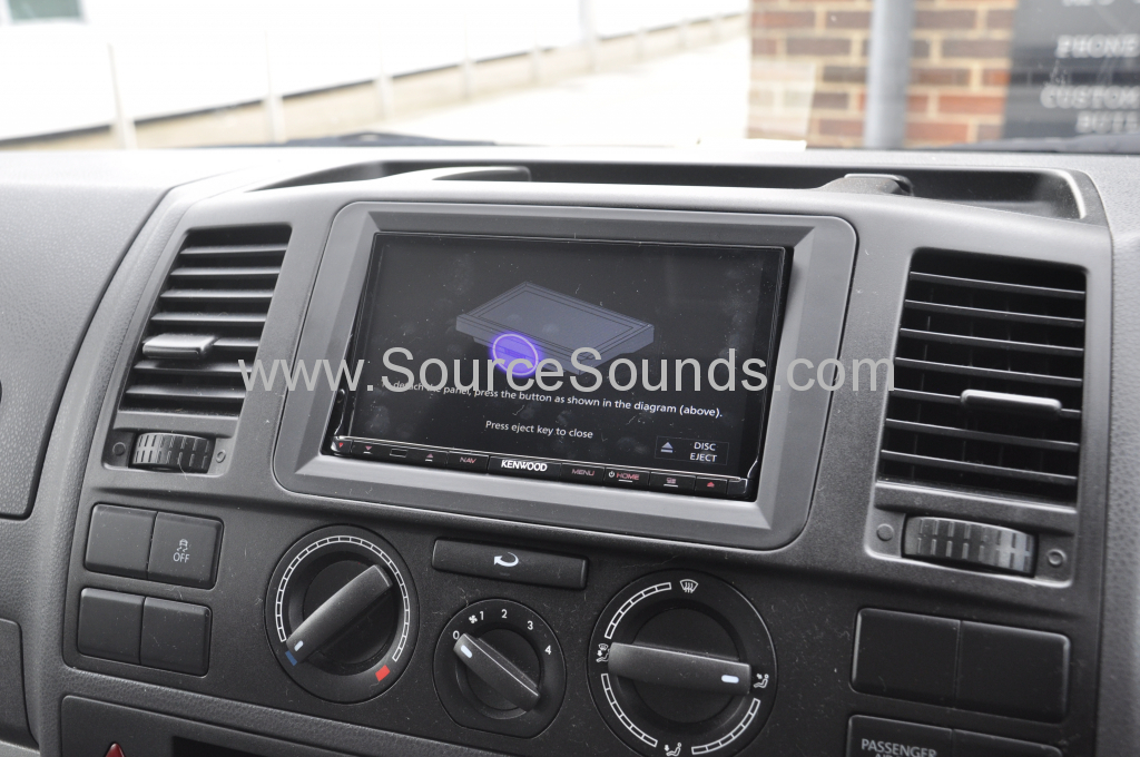 VW T5 2012 DAB screen upgrade 010