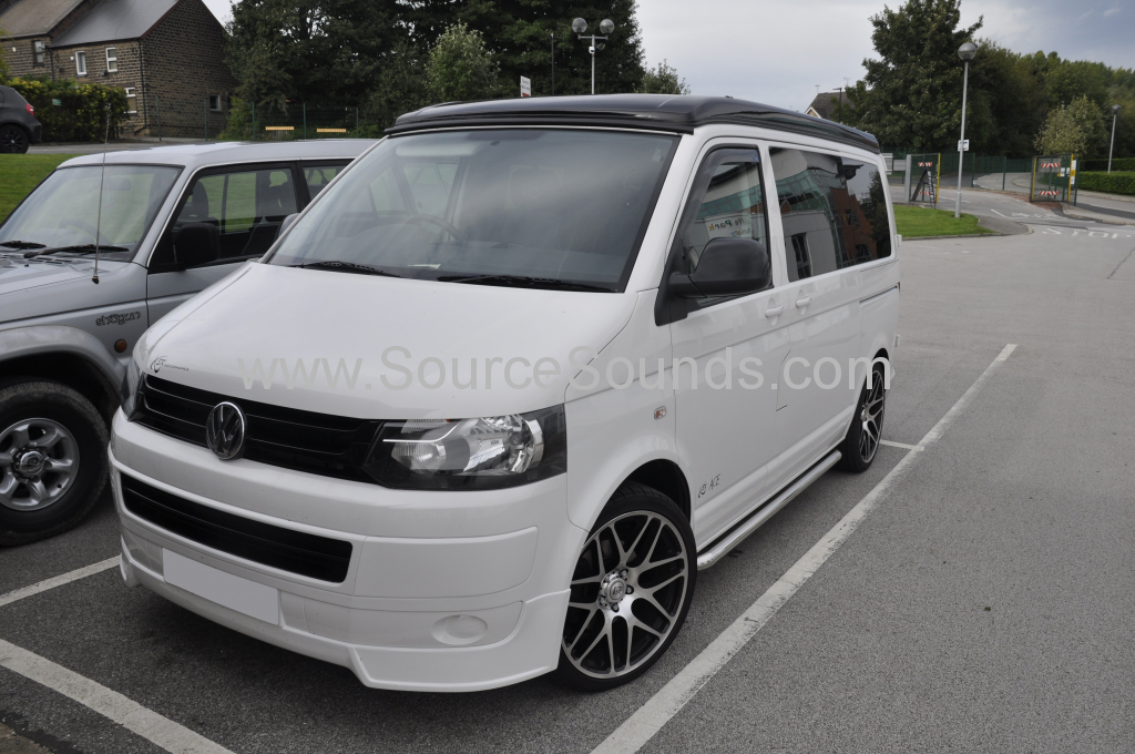 VW T5 2012 DNX8160DABS navigation upgrade 001