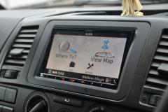 VW Transporter T5GP 2014 reverse camera upgrade 005