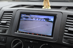 VW Transporter T5GP 2014 reverse camera upgrade 006