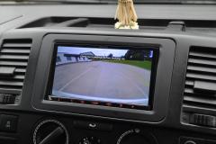 VW Transporter T5GP 2014 reverse camera upgrade 008
