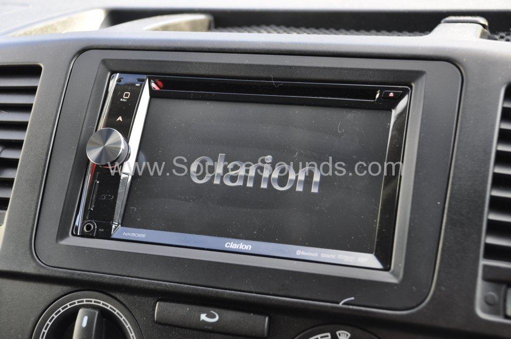 VW T5 2014 reverse camera upgrade 007