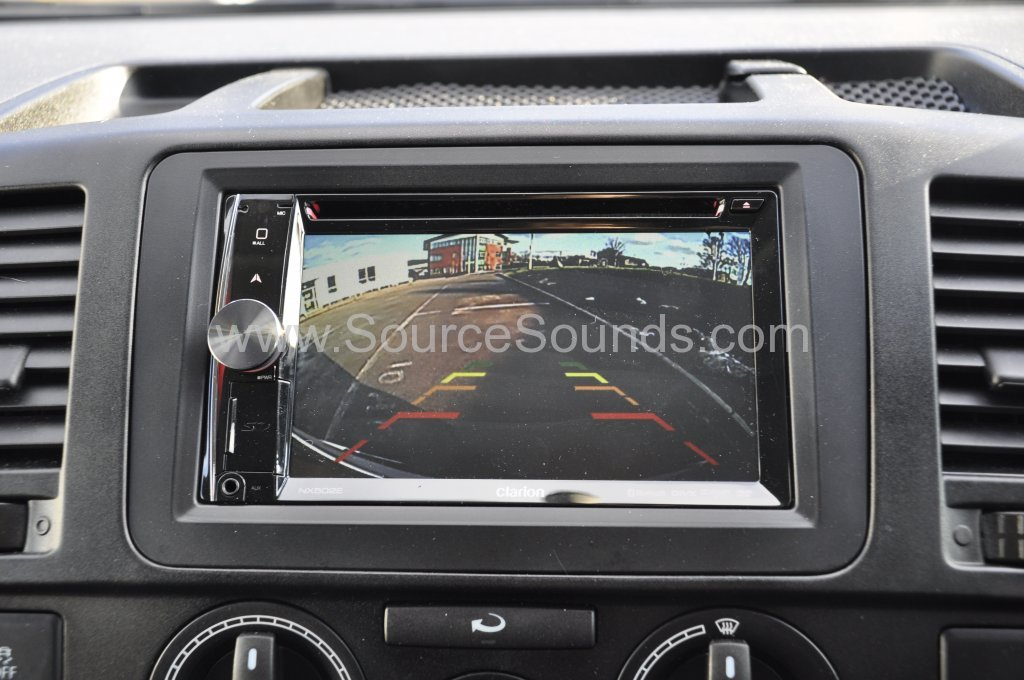 VW T5 2014 reverse camera upgrade 010