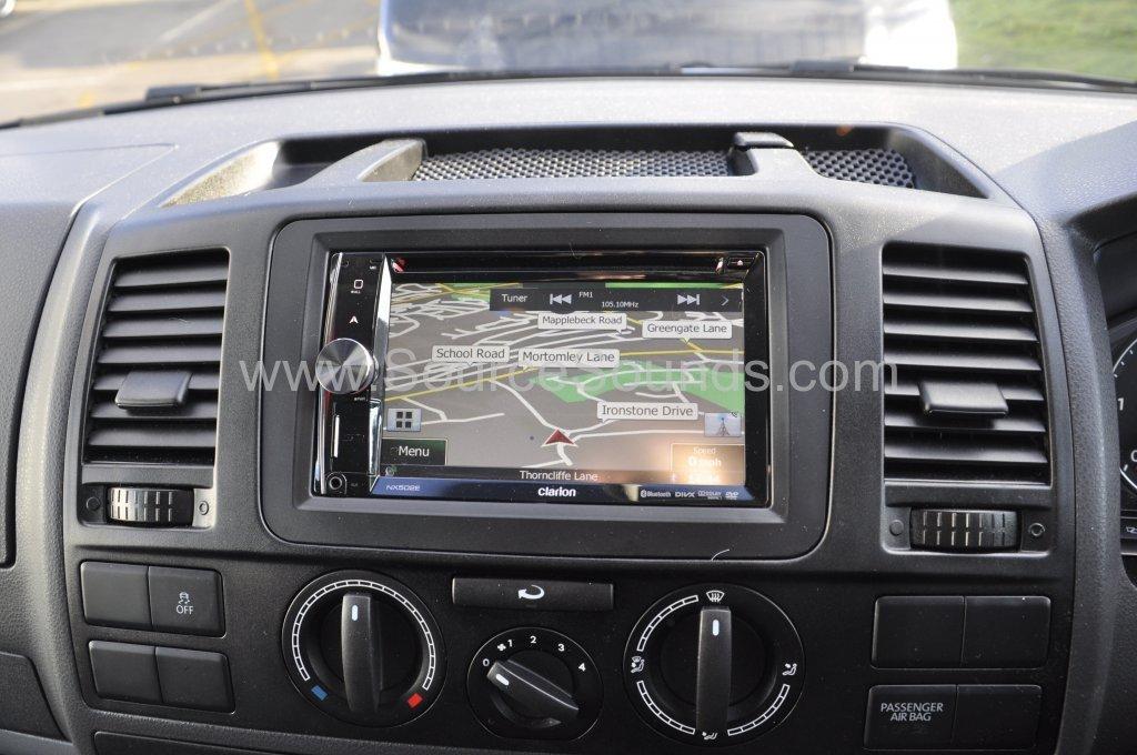 VW T5 2014 reverse camera upgrade 011