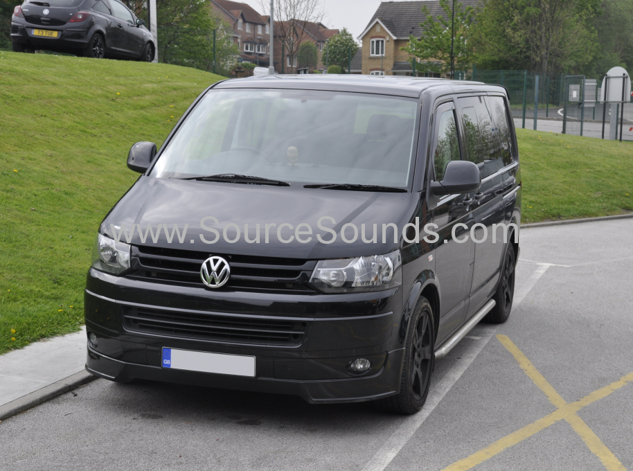 VW Transporter T5 2012 DAB upgrade 001
