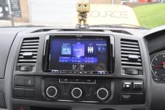 VW Transporter T5 2012 DAB upgrade 005