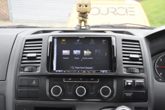 VW Transporter T5 2012 DAB upgrade 006