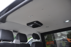 VW Transporter T6 2015 Alpine DVD roof screen 002