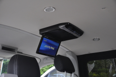 VW Transporter T6 2015 Alpine DVD roof screen 003