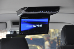 VW Transporter T6 2015 Alpine DVD roof screen 004